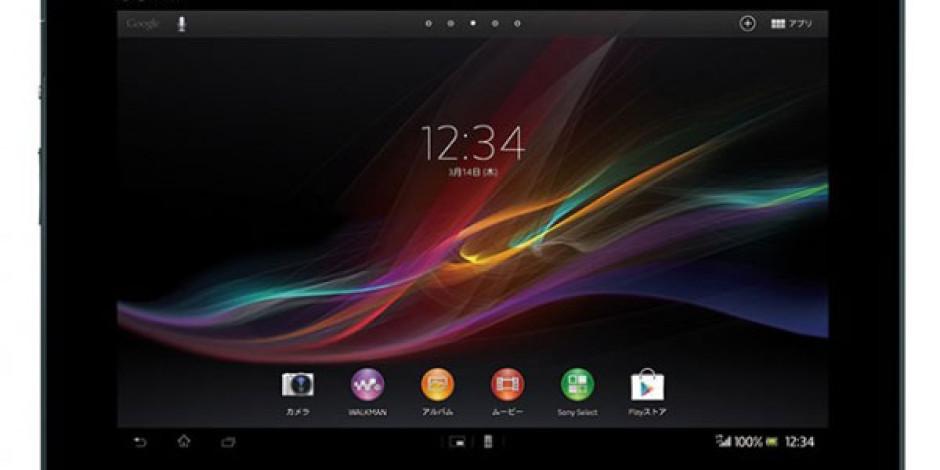 Sony'nin Yeni Tableti Xperia Tablet Z İncelik Konusunda İddialı