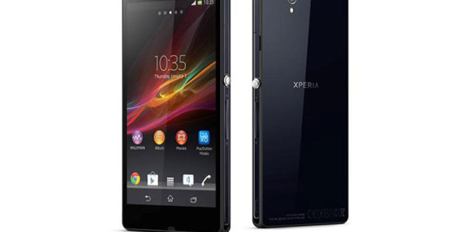 Sony Yeni Üst Sınıf Akıllı Telefon Modeli Xperia Z'i Tanıttı