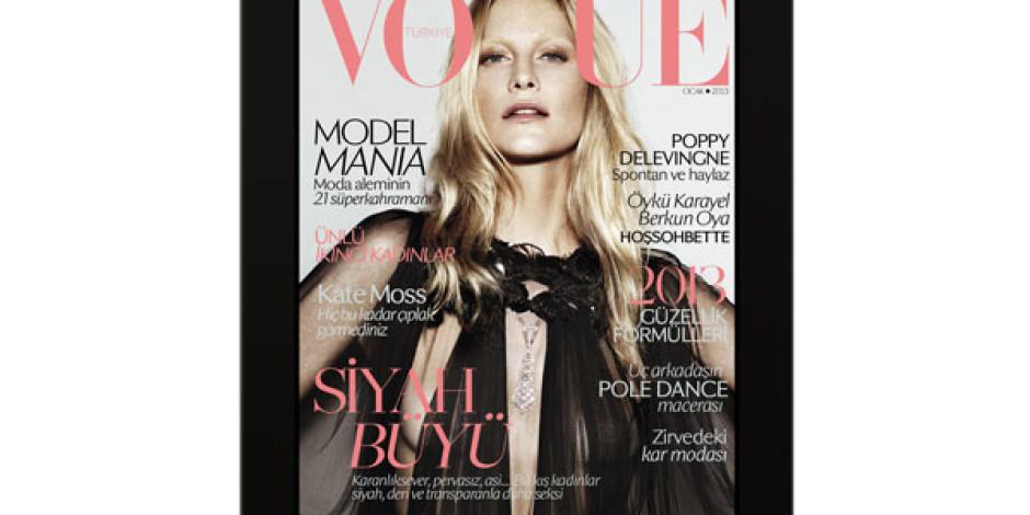 Vogue Türkiye Artık iPad'de