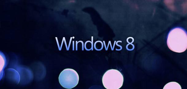 Windows 8, 2012'yi %2'nin Altında Pazar Payıyla Kapattı