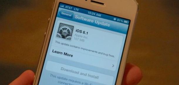 iOS 6.1 İle Gelen Özellikler