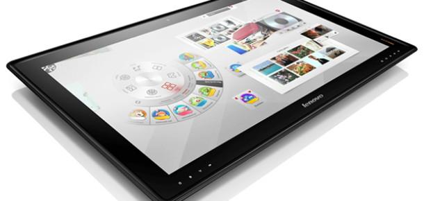 Lenovo'dan 1700 Dolarlık 27 İnç Masaüstü Tablet: IdeaCentre Horizon