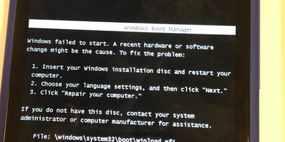 Windows Phone 8'deki Güldüren Başlangıç Hatası