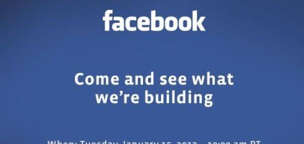 Facebook Bu Akşam Ne Tanıtacak?