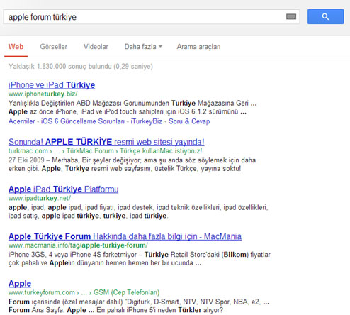 Apple Forum Turkiye