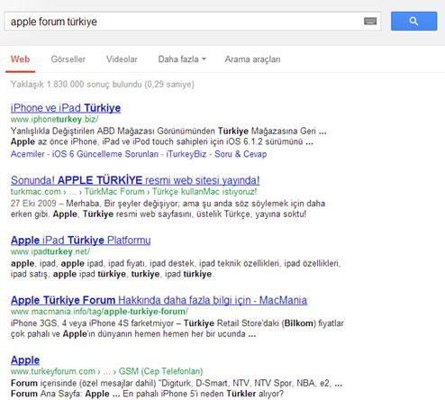 Apple Forum Turkiye