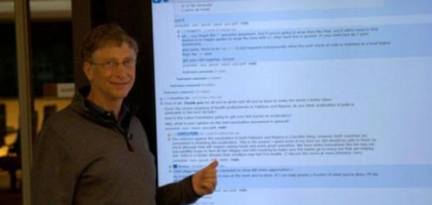 Bill Gates'in 82 İnçlik Dev Tableti
