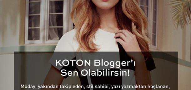 Koton Blog Yazarını Arıyor