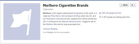Marlboro Facebook