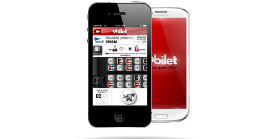Obilet.com'un Android ve iPhone Uygulamaları Yayınlandı