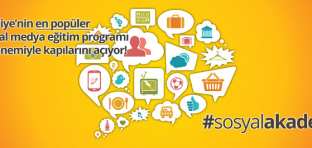 Sosyal Akademi Üçüncü Dönem Kayıtları Başladı