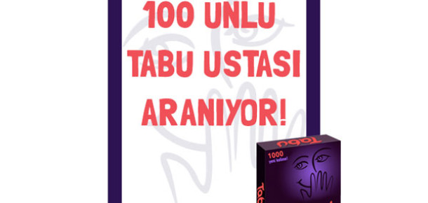 Tabu'nun Yeni Kelime Kartları Facebook'ta Seçiliyor
