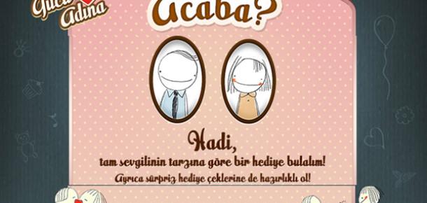 GittiGidiyor'dan Sevgililer Günü'ne Özel Facebook Uygulaması