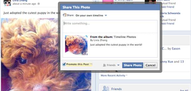 Facebook'a Arkadaş Paylaşımlarını Ücretli Tanıtma Özelliği Geliyor