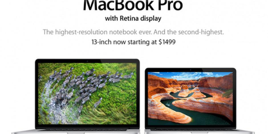 Apple Yeni MacBook'ları Güncelledi, Fiyatları Düşürdü
