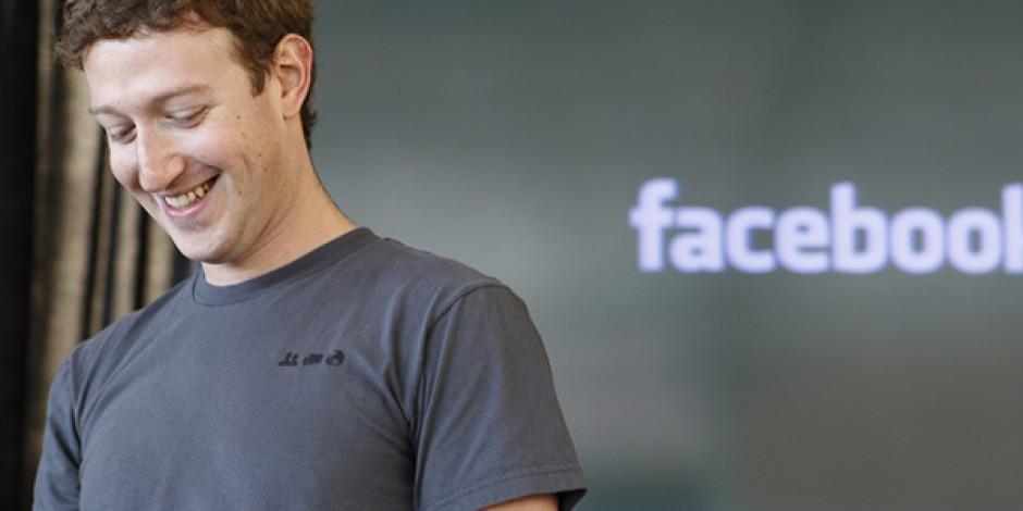 Mark Zuckerberg'in Facebook'taki Payı %30'a Çıktı