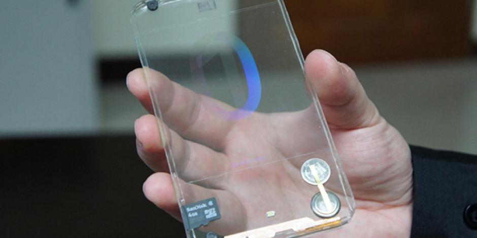 Şeffaf Akıllı Telefonlar Gerçek Oluyor