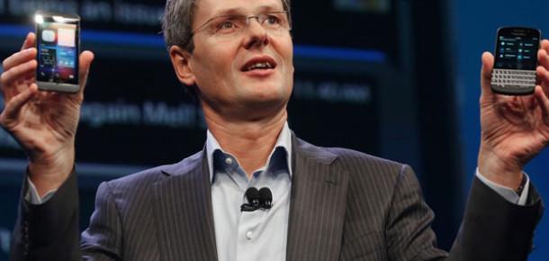 Blackberry'nin Çeyrek Raporu Gelecek İçin Umut Vaad Ediyor