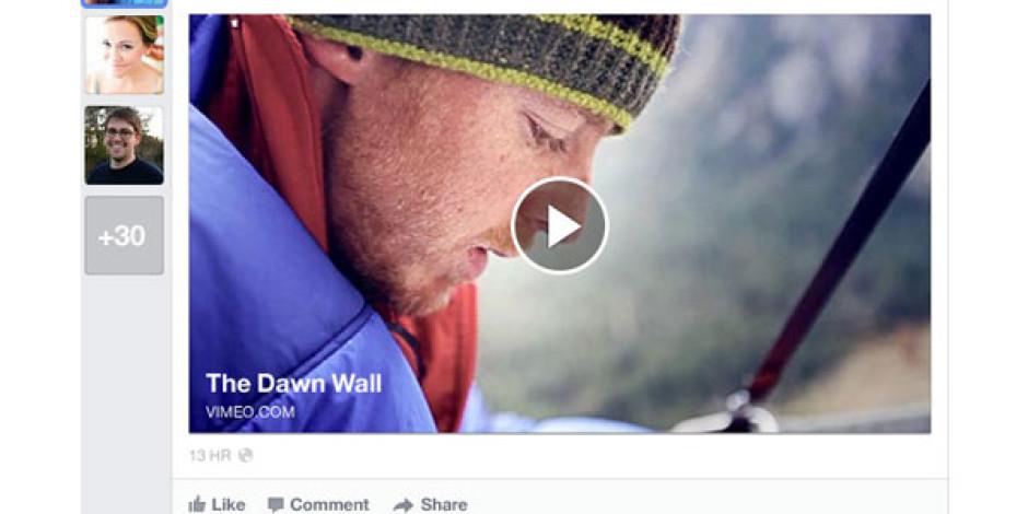 Facebook'un Yeni Ana Sayfa Tasarımı Tanıtıldı
