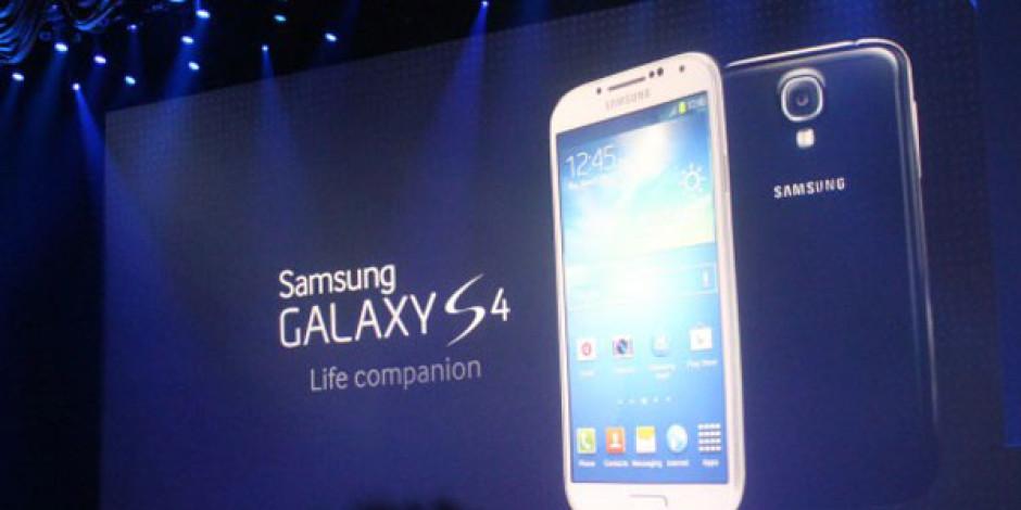Samsung Galaxy S 4 Tanıtıldı
