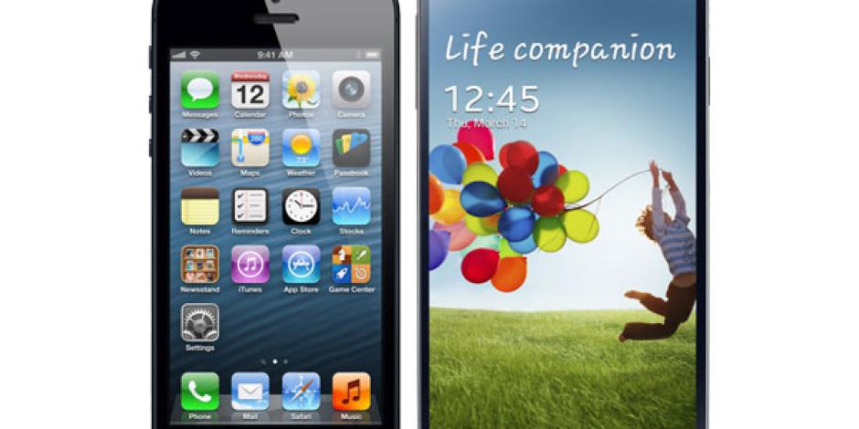 Galaxy Serisi iPhone'u Sadece Bir Defa Geçebildi