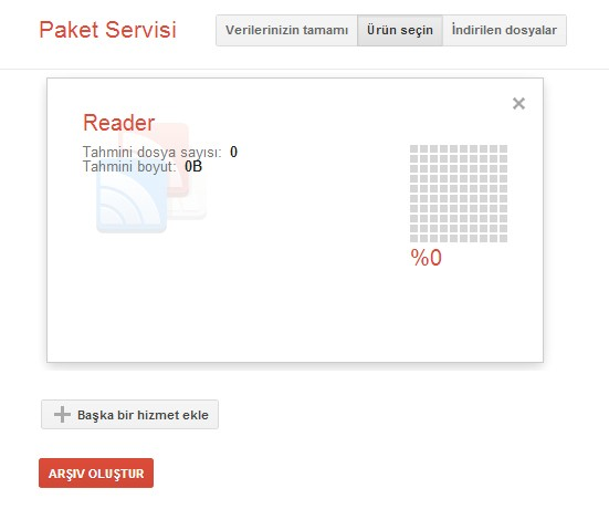 Google Paket Servisi