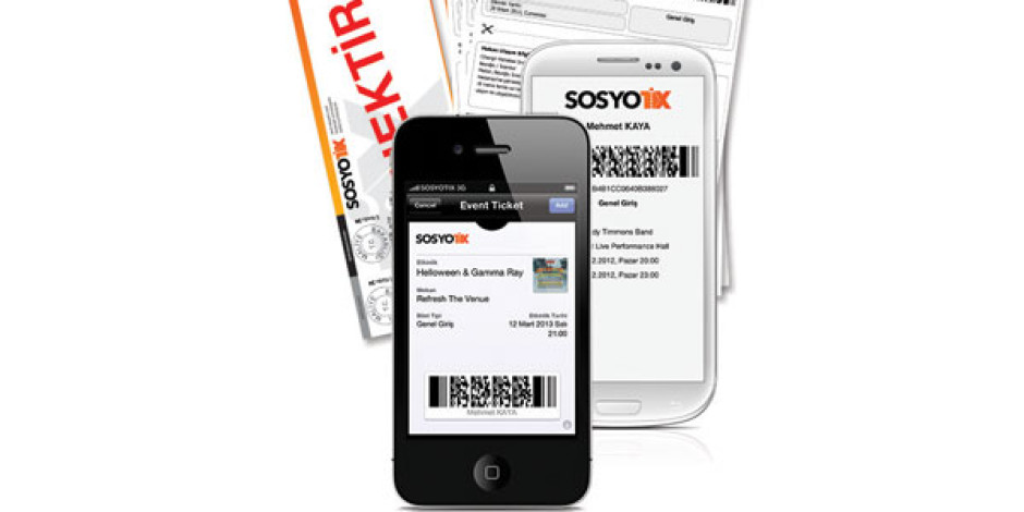 Sosyotix: Passbook ile Entegre Çalışan Dijital Bilet Servisi