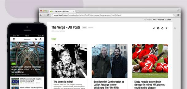 Google Reader Alternatifi Feedly'ye İki Günde 500 Binden Fazla Yeni Kayıt