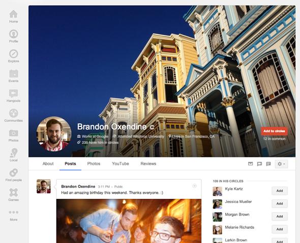 Google Plus Kapak Fotoğrafı