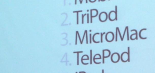 iPhone'un İsmi TelePod, Mobi, iPad veya TriPod Olabilirmiş