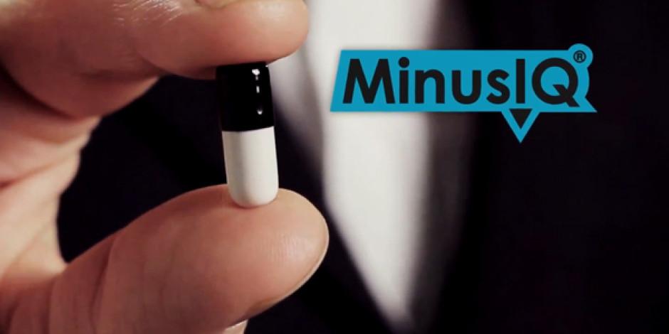 MinusIQ: Zekanızı Kalıcı Olarak Düşüren Hap