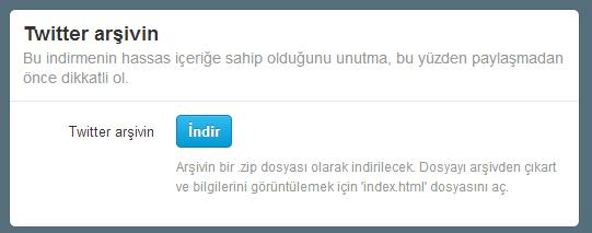 Twitter Arşiv