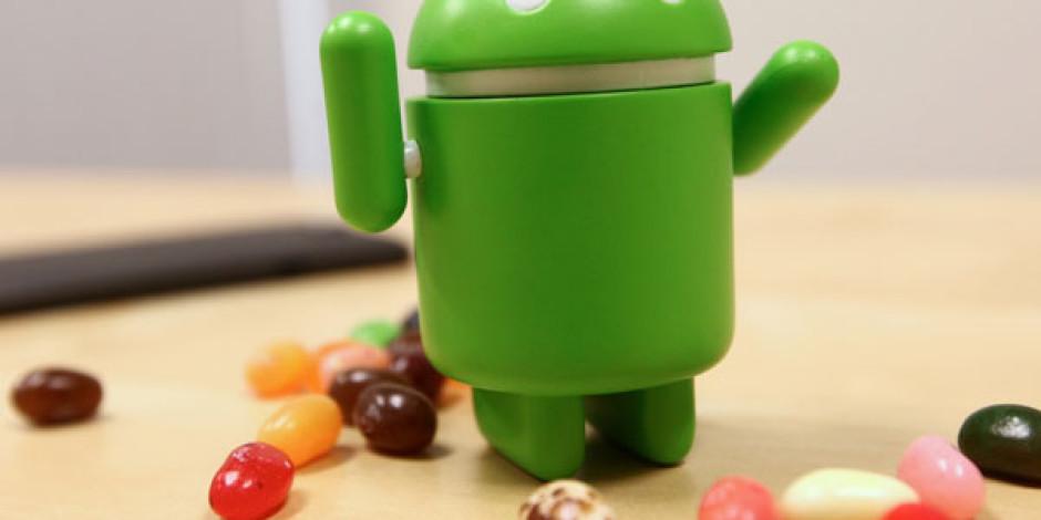 Her Dört Android'li Cihazdan Birinde Jelly Bean Yüklü