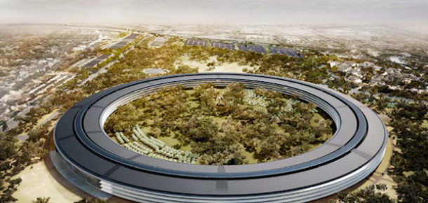 Apple'ın Yeni Kampüsü 5 Milyar Dolara Mal Olacak