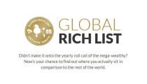 Dünyanın En Zengin Kaçıncı Kişisi Olduğunuzu Öğrenmek İster misiniz?