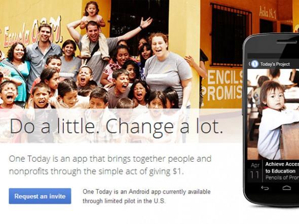 Google Hayırlı Bir İş İçin Bir Dolarınıza Talip