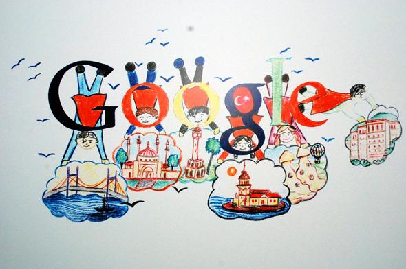 Melissa Çağlar'ın Kazanan Doodle Çalışması