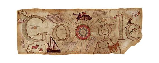Piri Reis Doodle