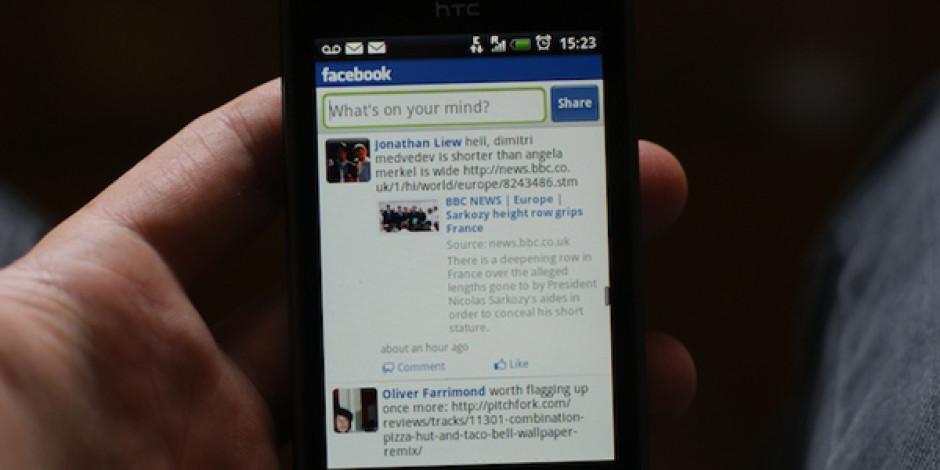 Facebook'un Mobil İşletim Sistemine Ait İlk Ekran Görüntüleri Sızdı