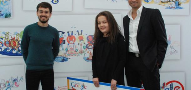 Google'ın Doodle Yarışmasını 10 Yaşındaki Melissa Kazandı