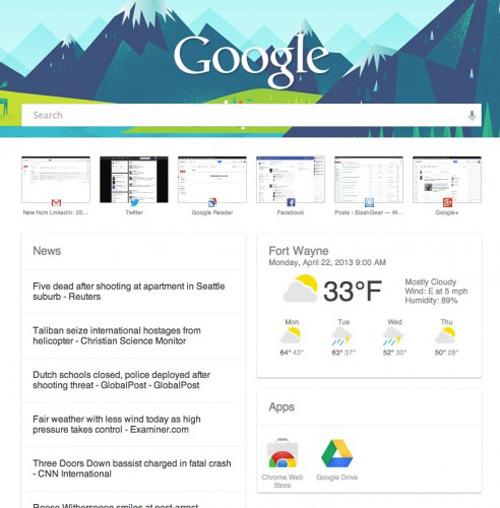 Google Now Eklenti
