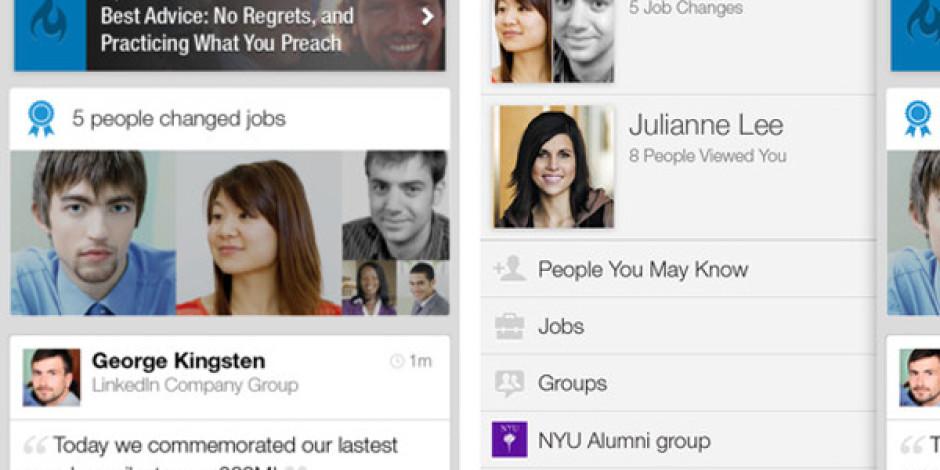 LinkedIn'in iPhone ve Android Uygulamasına Gelen Yeni Özellikler