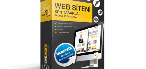 Sentasarla.com ile Web Siteniz 30 Dakikada Hazır