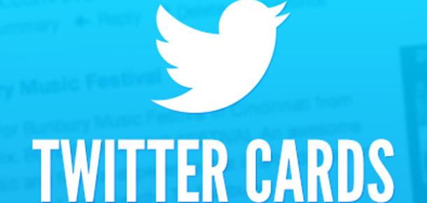 Twitter Cards'a Üç Yeni Özellik Eklendi
