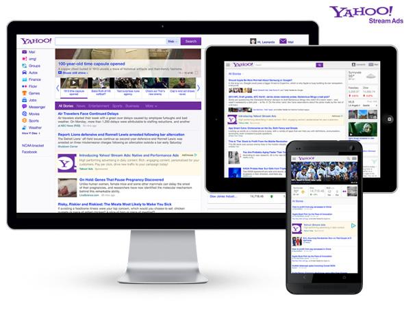 Yahoo Stream Ads