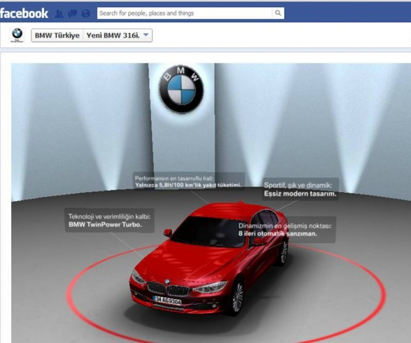 BMW Facebook Tab