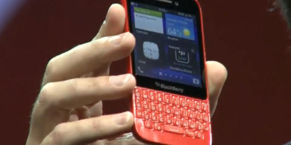 BlackBerry Yeni Klavyeli Modeli Q5'i Tanıttı