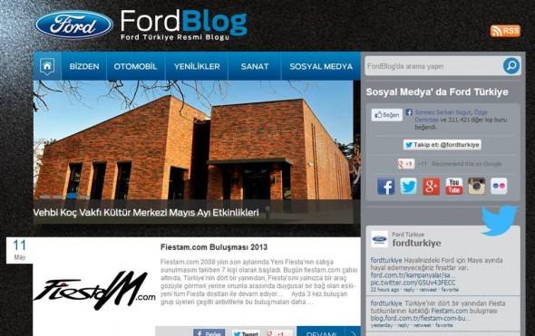 Ford blog