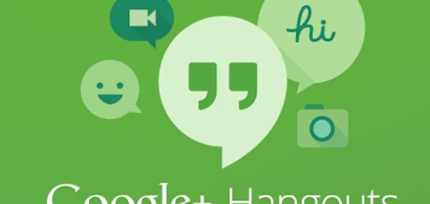 Google Tüm Sohbet Servislerini Hangouts Altında Birleştirdi