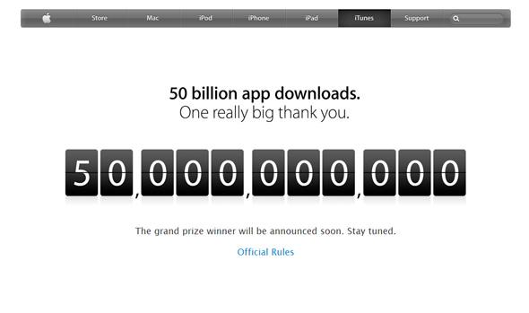 Apple 50 Milyar